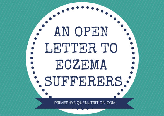 open letter to eczema sufferers